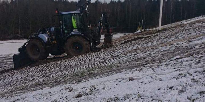 Maskinist till traktorgrävare