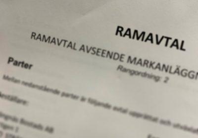 Hellsténs tecknar nytt ramavtal med Strängnäs Bostads AB & Strängnäs Fastighets AB